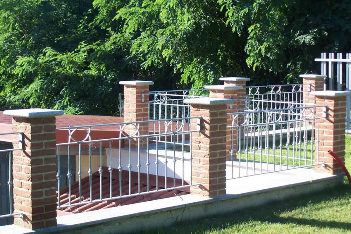 Recinzione Giardino In Ferro recinzioni in ferro acciaio alluminio asti - alba   oma
